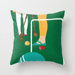 80s TEEN MOVIES :: HEATHERS Throw Pillow