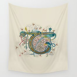 Celtic Initial T Wall Tapestry
