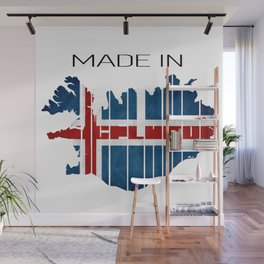 Iceland. Icelandic. Reykjavik. Icelandic husband. Vikings. Vikings tv show Wall Mural