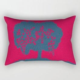 Fruit Tree Series, Red II Rectangular Pillow
