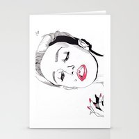 miley cyrus Stationery Cards featuring Miley Cyrus by ☿ cactei ☿