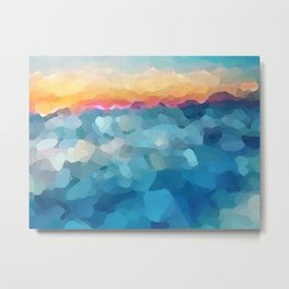 Some Faraway Beach Metal Print