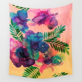 Skye Floral Wall Tapestry