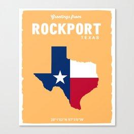 Rockport Texas. Canvas Print