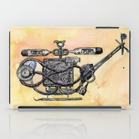medical iPad Cases featuring The Medical Chopper by Sean Greenberg Illustration