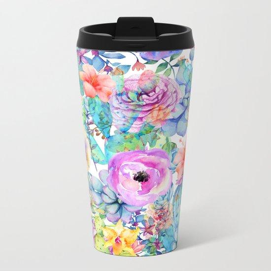 spring blossom i Metal Travel Mug