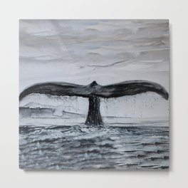 Whale's tale Metal Print