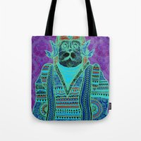 persian Tote Bags featuring Persian by MR. VELA
