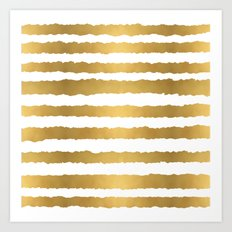 Earning Her Stripes Art Print