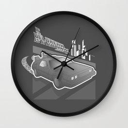 Don't Come-a Knockin Wall Clock
