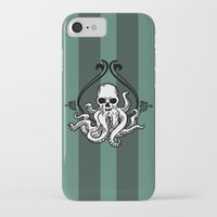 cthulhu iPhone & iPod Cases featuring Cthulhu by MyOwlHasAntlers