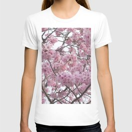 Cherry Blossom Trees. Pink flowers T-shirt
