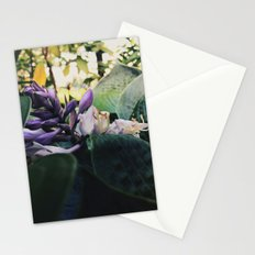 Hiking flowers Stationery Cards