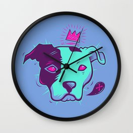 Electric Pit King Wall Clock
