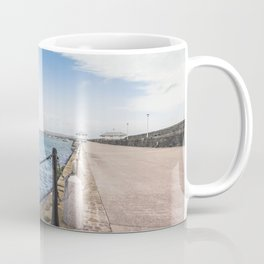 Dun Laoghaire pier Coffee Mug