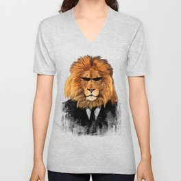Lion Suit Unisex V-Neck