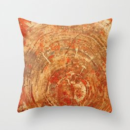 Earth signs Throw Pillow