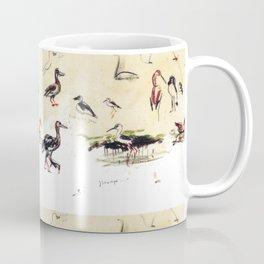 Birds at Murchison  Falls E.A.           by      Kay Lipton Coffee Mug