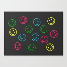Happy Faces Canvas Print