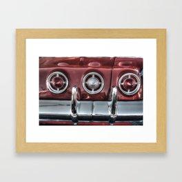 '61 Impala SS Framed Art Print