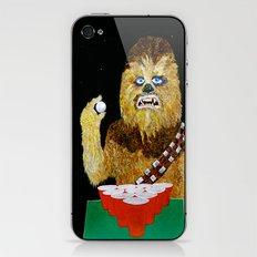 BEER PONG WOOKIE iPhone & iPod Skin