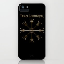 Team Lothbrok Gold iPhone Case