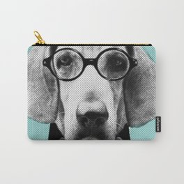 Mr Italian Bloodhound the Hipster Carry-All Pouch