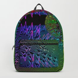 Time and Space contour Backpack
