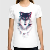 wolf T-shirts featuring Act like a wolf.  by Mason Denaro