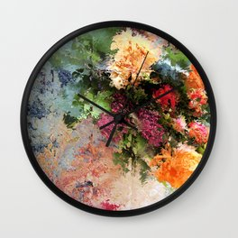 Four Seasons in One Day Wall Clock