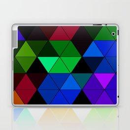 Colorful Triangle Mosaic Laptop & iPad Skin