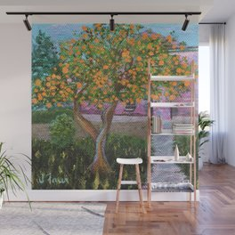 Orange Tree of St. Remy, France Wall Mural