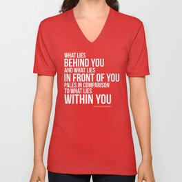 What Lies Within You Unisex V-Neck