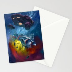 Disaster in Deep Space Stationery Cards