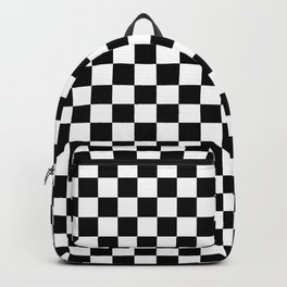 Checkerboard Pattern Backpack