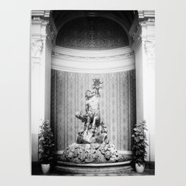 Széchenyi Baths fürdő József Róna centaur statue Budapest Hungary Poster