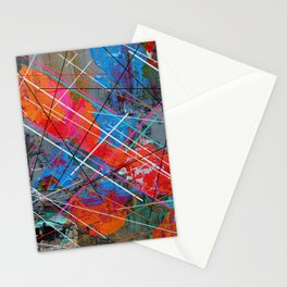 Canvas Abstract Tres Stationery Cards
