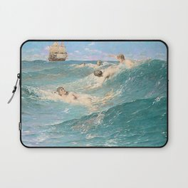 In Strange Seas Laptop Sleeve