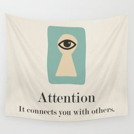 Attention Wall Tapestry