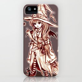 Maya the Spellcrafter iPhone Case
