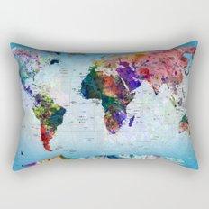 map Rectangular Pillow