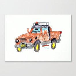 Tred Canvas Print