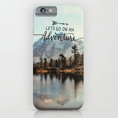 lets go on an adventure iPhone 6s Slim Case