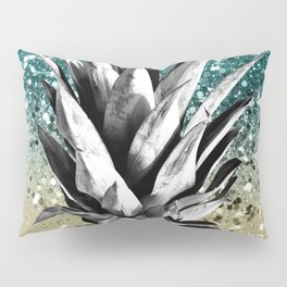 Pineapple Lemon Twist Glitter Glam #1 #tropical #fruit #decor #art #society6 Pillow Sham