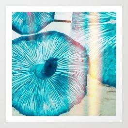 Vintage Blue Gills Art Print