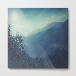 mountain blues Metal Print