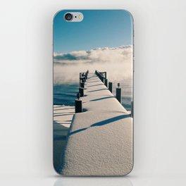Snowy Pier iPhone Skin