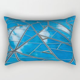 Blue sky reflections Rectangular Pillow