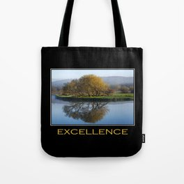 Inspirational Excellence Tote Bag