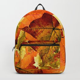 Fallen Autumn Leaves Backpack